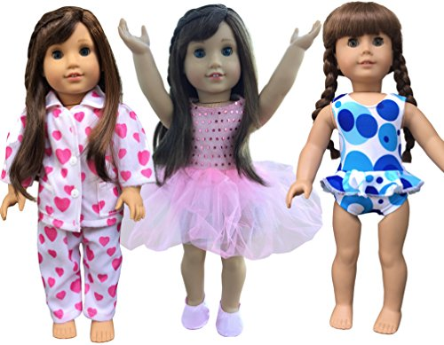 instyle-doll-clothes-3-outfits-for-18-inch-american-girl-doll