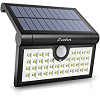 Zanflare Super Bright Motion Sensor Solar Powered Wall Path Light (1 Pack 42 LED)