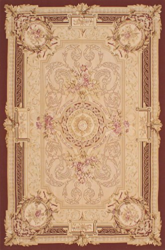 Hand Woven Aubusson Tapestry (Ecarpetgallery Hand-woven French Tapestry Aubusson 8'0