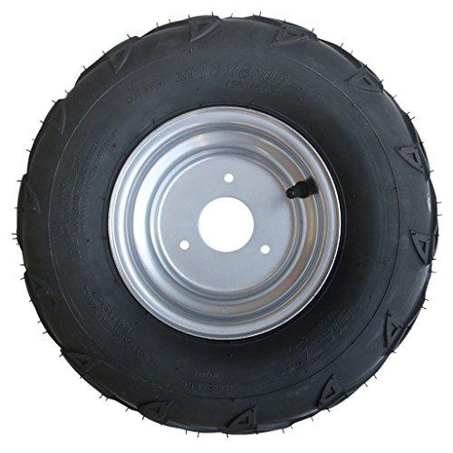 WPHMOTO 16X8-7 ATV Tire and Rim Tubeless   Front or Rear Tir