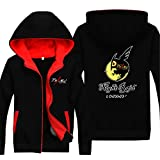 Vicwin-One Akame Ga Kill Logo Thick Hoodie Pullover Cosplay (Size M)