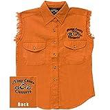 Orange County Choppers - Womens Logo Sleeveless Women's Shirt Medium Orange