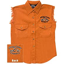 Orange County Choppers - Logo Sleeveless Juniors Shirt