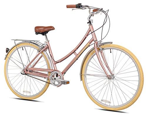 Pedal Chic Women's 700c Radiate Hybrid Bicycle, 18