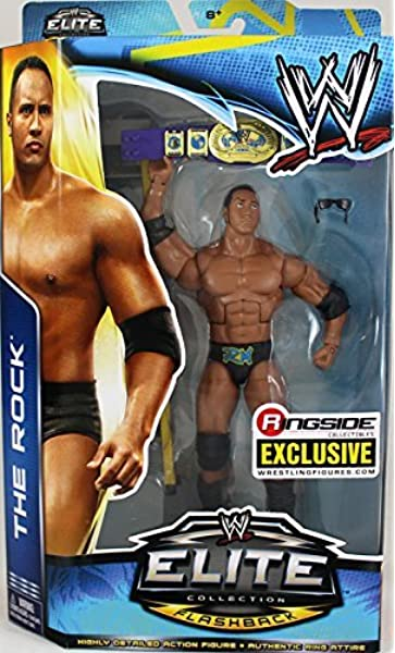 THE ROCK Elite Series Figure AMERICAN BULL Muscle SHIRT ACCESSORY EF WWE