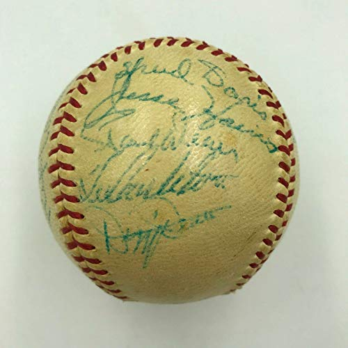 1934 St. Louis Cardinals World Series Champs Team Signed Baseball With JSA COA