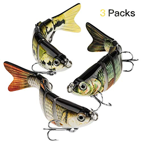 CharmYee Bass Fishing Lure Topwater Bass Lures Fishing Lures Multi