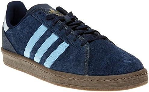 adidas - Zapatillas de Ante para Hombre Azul Collegiate Navy/Argentina Blue: Amazon.es: Zapatos y complementos