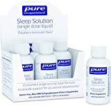Pure Encapsulations - Sleep Solution (Single Dose Liquid) to Provide Support for Occasional Sleeplessness* - 6-58 ml/ 1.96 fl oz Bottles