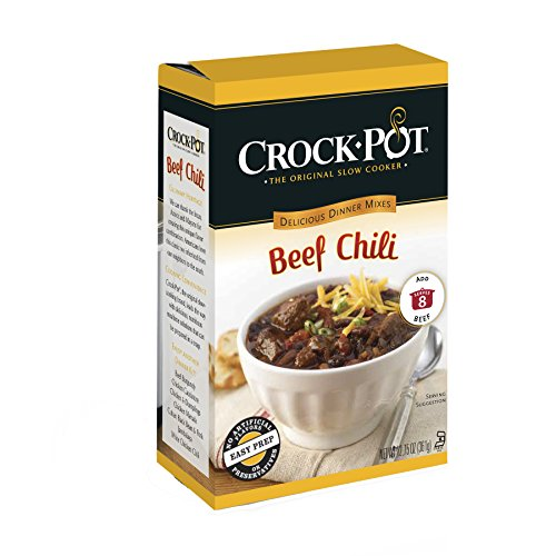 Crock-Pot Delicious Dinners Beef Chili, 12.75 Ounce