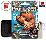 Best Girth Enhancements - PremierZEN Platinum 10000 (10 Caps) Male Performance, Energy Review