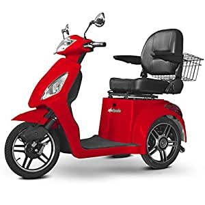 Senior Scooter Electric Mobility Red