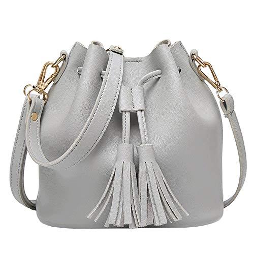 portable pour à Housse cuir gris PU inclinée transporter gris Summer femmes de l'épaule peut en Hkjhk sac couleur bandoulière nn0ZHxF