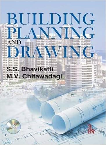Building Planning And Drawing S S Bhavikatti M V Chitawadagi 9789382332565 Amazon Com Books