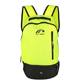 Mochila de Fútbol, 2 Colores Multifuctional Football Shoulders Bag Soccer Ball Backpack para Deportes al Aire Libre(Green): Amazon.es: Deportes y aire libre