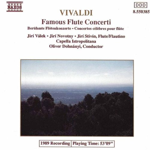 Flute Concerto in F major, Op. 10, No. 5, RV 434: I. Allegro ma non tanto - II. Largo e cantabile - III. Allegro