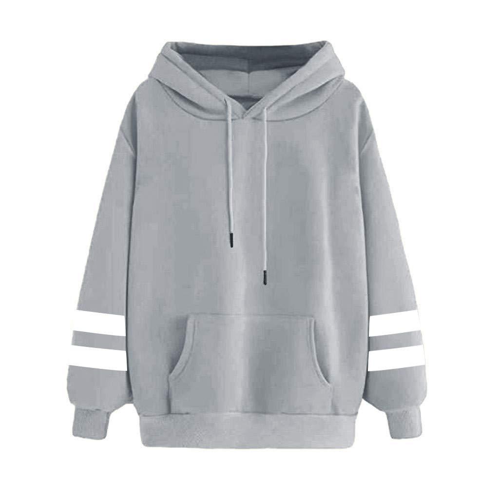 Women Sweatshirts Teen Girls Casual Long Sleeve Planet Print Hoodie Pullover Tops Jumper Hooded Blouse