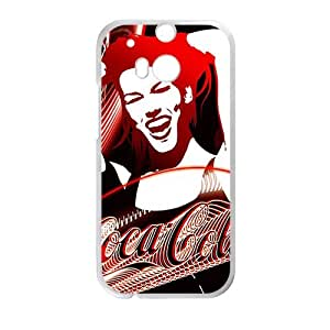 Happy Drink brand Coca Cola fashion cell phone case for HTC One M8