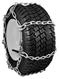 Image of Security Chain Company QG0456 Quik Grip Garden Tractor and Snow Blower Tire Traction Chain - Set of 2