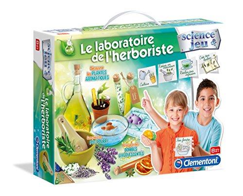 Clementoni - 52075.6 - Jeu Scientifique - Le Laboratoire Des Plantes