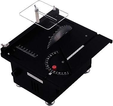 Mini mesa de sierra, TOPQSC 300W Saw Saw Table 40mm Profundidad de ...