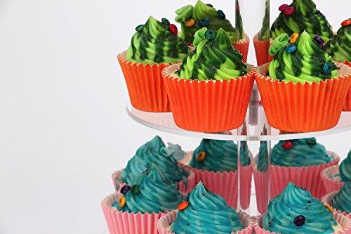 weddingwish 3 Tier Round Acrylic Cupcake Stan(New) … … by weddingwish (Image #6)