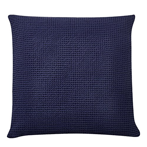 Find Discount PHF Waffle Euro Sham Cover and Cushion Cover 100% Cotton Pack of 2