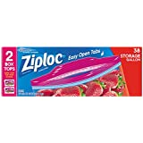 Ziploc Storage Bags Gallon 38 ct (Pack Of 3)