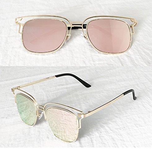 2 Protection de UV 100 de Couleur Lunettes X3 Soleil Soleil des Lunettes Lunettes Vintage 6 Mode wvPYxqZ1