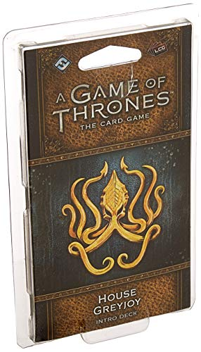 A Game of Thrones LCG Second Edition: House Greyjoy Deck (Game Of Thrones Card Game Greyjoy Deck)