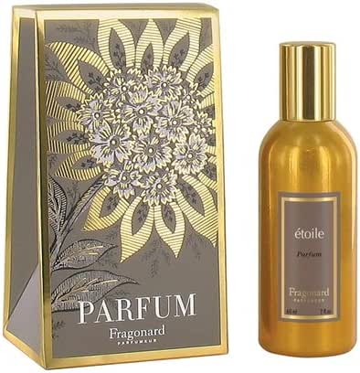 ETOILE perfume (60ml) gilded alu natural spray by FRAGONARD 100% authentic original from PARIS FRANCE