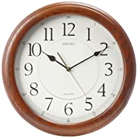Seiko Wall Clock Quiet Sweep Second Hand...