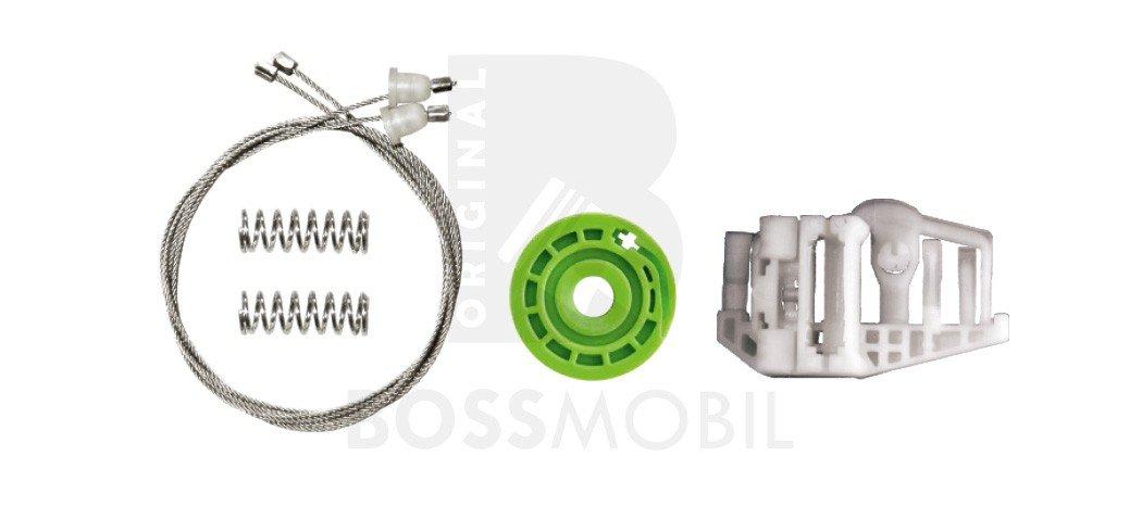Trasero izquierdo E90, E91 Bossmobil kit de reparaci/ón de elevalunas el/éctricos