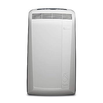 DeLonghi Pac N90 Eco Silent Aire Acondicionado portátil, Capacidad refrigeración 9800 BTU,