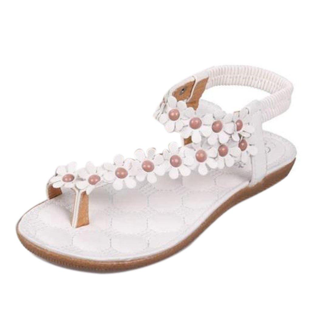 Damen Sommer Schuhe Xinan Bouml;hmen Blumen Flip Flop Sandalen  38|??wei??? ?
