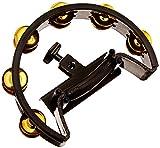 Pearl PTM10GH Ultra Grip Tambourine, Steel Jingles