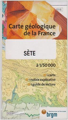 Lire en ligne Carte géologique : Sète pdf