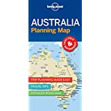 Lonely Planet Australia Planning Map (Travel Guide)
