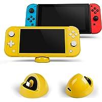 LEHOO Playstand de Cargador Compatible para Nintendo Switch y Lite, Estación de Carga de Soporte Compact Dock con Puerto Tipo C, para Otros Dispositivos de Interfaz Tipo C (Amarillo)