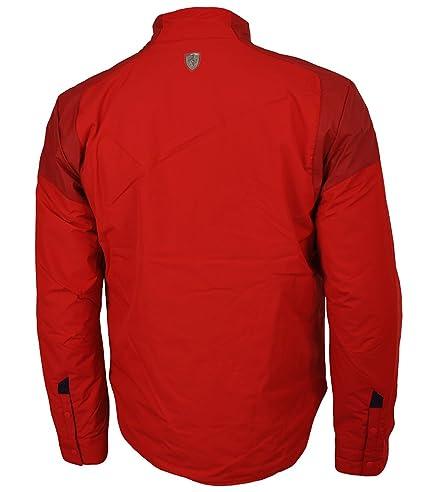 Puma Scuderia Ferrari Padded Jacket Chaqueta de Invierno Hombre Rojo: Amazon.es: Ropa y accesorios