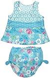 i play. Baby Girls Newborn Ultimate Swim Diaper 2 Pack Tankini