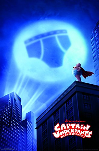 Trends International  Captain Underpants One Sheet Wall Poster 22.375 x 34