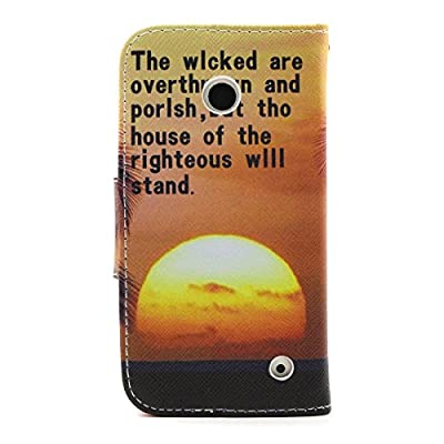 Daminfe Nokia 635/Nokia 630 Wallet Case, Colorful Cute Paint Smile Pattern Premium PU Leather Wallet Flip Case Protective Stand Skin Case Credit Card Holder Pouch for Nokia Lumia 630/635 by DAMINFE