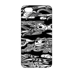 Wish-Store Fashion Cute Cool (3D)Phone Case for iPhone 5s hjbrhga1544