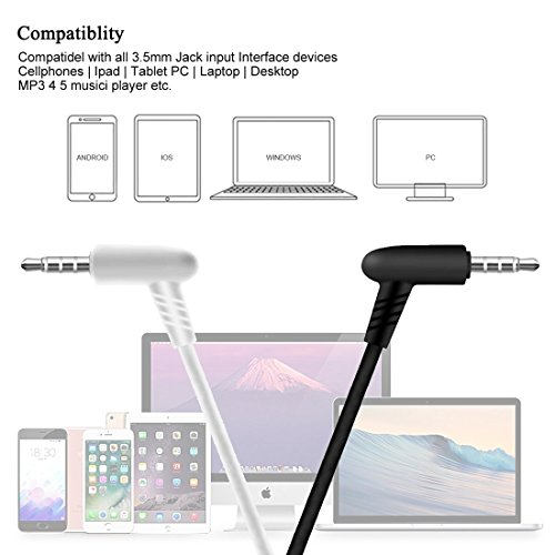 Earphones,HaRuion Earbuds,Headphones,In Ear Earphones,Ear buds Wired with Mic for Apple Iphone 6S Plus/Samsung Galaxy S9 Edge 8/Huawei/LG/Blackberry Mobile Devobile Device MP3 Music Player Ios Android by HaRuion (Image #6)