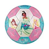 Franklin Sports Disney Princess Air Tech Soft Foam Soccer Ball, Size 3