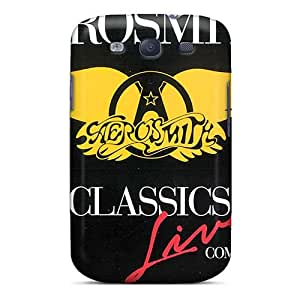 Perfect Hard Cell-phone Case For Samsung Galaxy S3 (MSF2824EXSr) Provide Private Custom Attractive Aerosmith Band Series