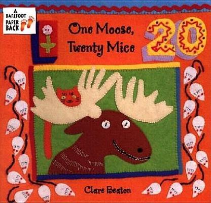 One Moose - One Moose Twenty Mice[1 MOOSE 20 MICE][Paperback]