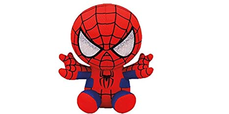6543ab08dc4 Image Unavailable. Image not available for. Color  Ty Marvel Spiderman  Beanie Babies ...