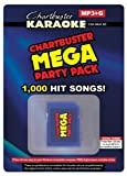 Chartbuster Karaoke Mega Party Pack - 1,005 MP3G Songs on SD Card